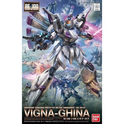 Bandai Hobby Gundam F91 #09 Vigna-Ghina RE/100 MG 1/100 Model Kit - image 1 of 3