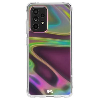 Case-Mate - SOAP BUBBLE - Case for Samsung Galaxy A52 (5G)  - 6.5 inch - Iridescent Swirl