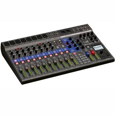 Zoom Live Trak L-12 Digital Mixer & Multitrack Recorder, (Black)