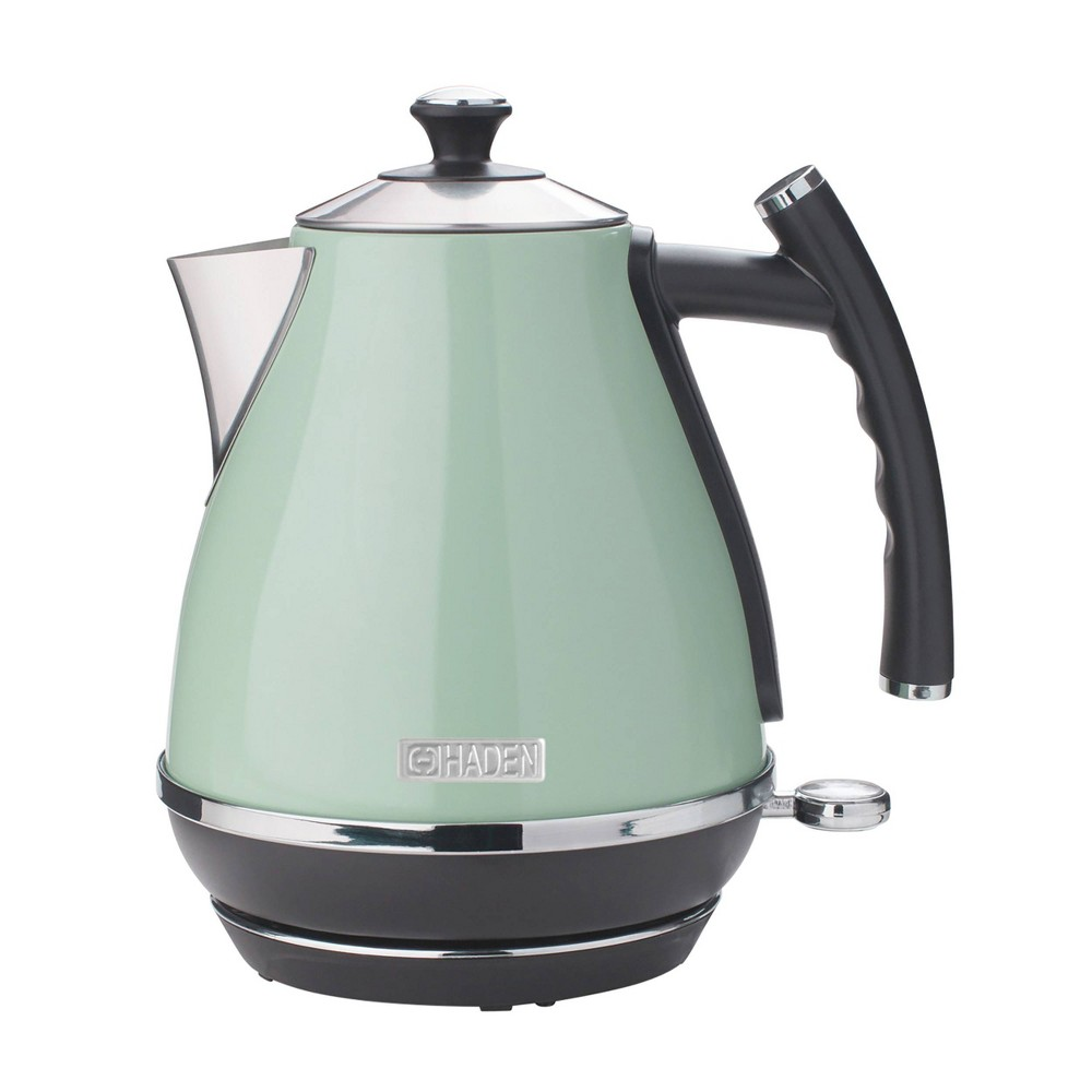 Image of Haden Cotswold 1.7L Stainless Steel Electric Kettle - Light Green