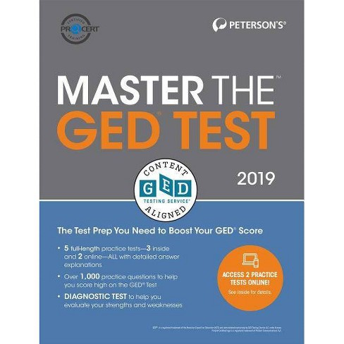 Master the GED Test 2019 - 30 Edition (Paperback)