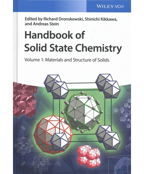 Handbook of Solid State Chemistry : Materials and Structure of Solids / Synthesis / Characterization / - image 1 of 1