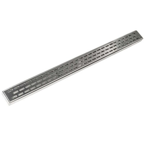 "Infinity Drain FXED 6560 60"" Pattern Grate Linear Shower Drain Assembly - image 1 of 1"