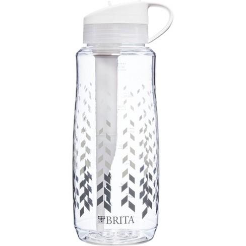 brita hard sided 34oz water bottle : target