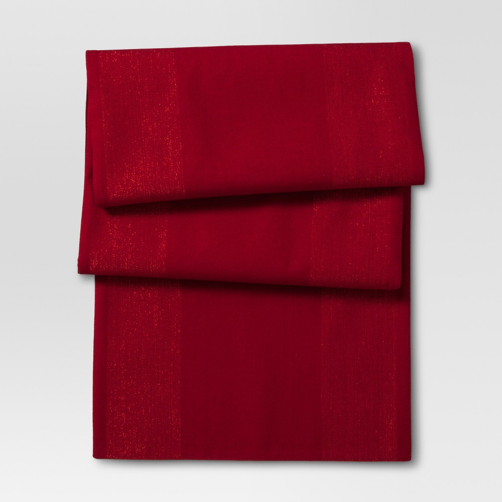 Ruby Ring Solid Table Runner Threshold 8482