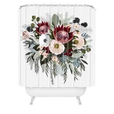 Adeline Sun Shower Curtain - Deny Designs