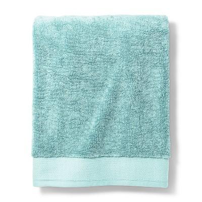 Bath Sheet Reserve Solid Bath Towels And Washcloths Silver Blue - Fieldcrest®