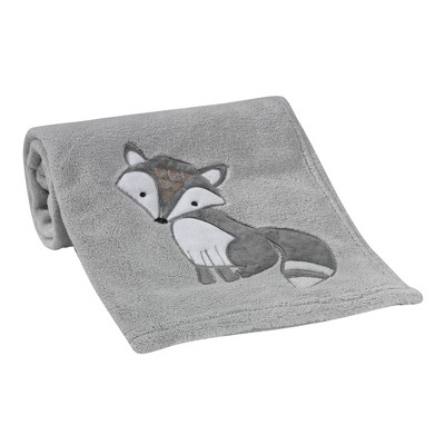 Bedtime Originals Little Rascals Blanket - Gray