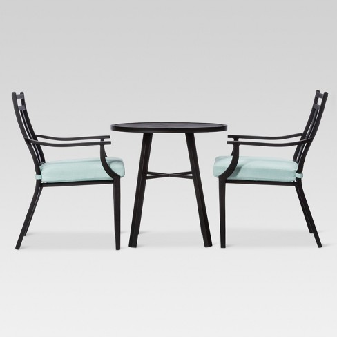 Fairmont 3pc Metal Patio Bistro Set - Threshold™ - image 1 of 7