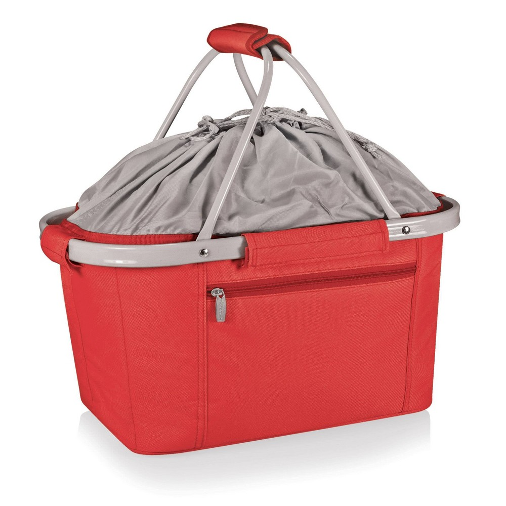 Image of Picnic Time Metro Collapsible Basket - Red