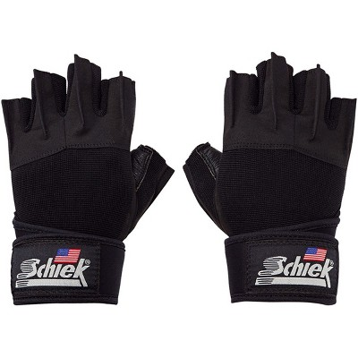 Schiek Sports Platinum 3/4 Finger Wrist Wrap Lifting Gloves