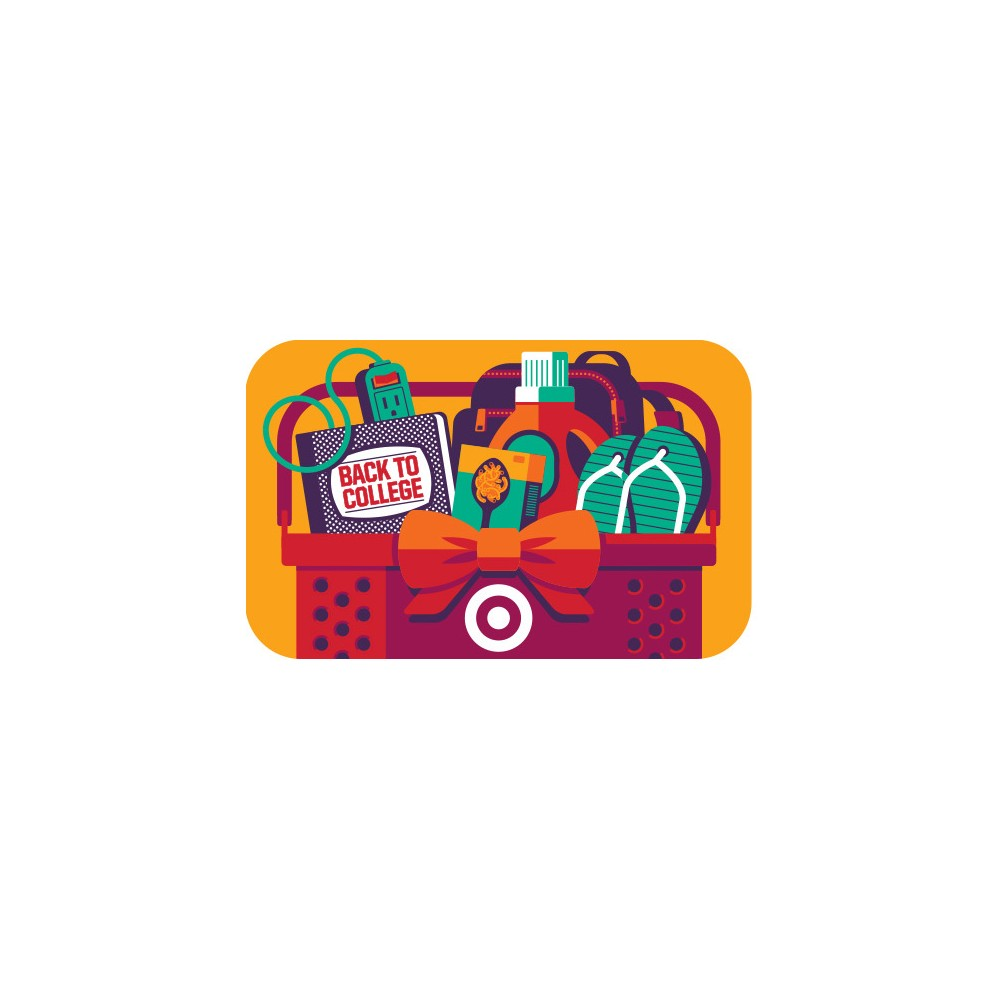 Back to College Target Giftcard Back to College Target Giftcard