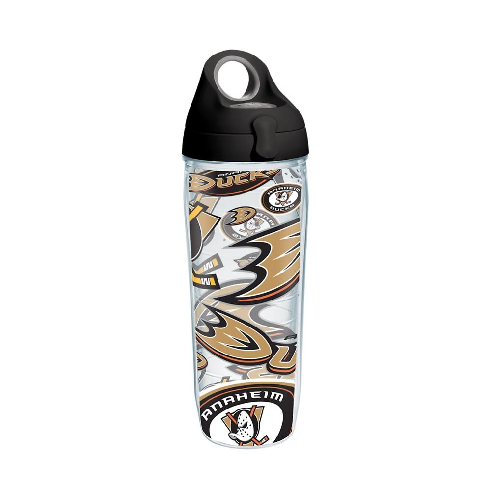 NHL Anaheim Ducks 24oz Water Bottle All Over
