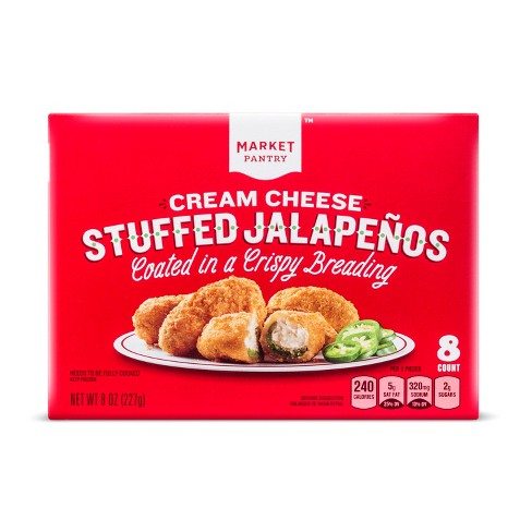 Cream Cheese Stuffed Frozen Jalapeno Poppers - 8oz - Market Pantry™ - image 1 of 1