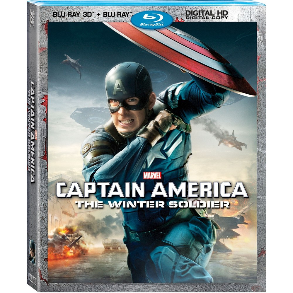 Captain America: The Winter Soldier [Includes Digital Copy] [2D/3D] [Blu-ray]