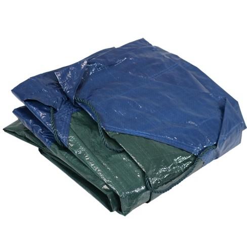 Sunnydaze Decor Weather-Resistant Polyethylene Tarp, 7 Feet - Blue and Green - image 1 of 4