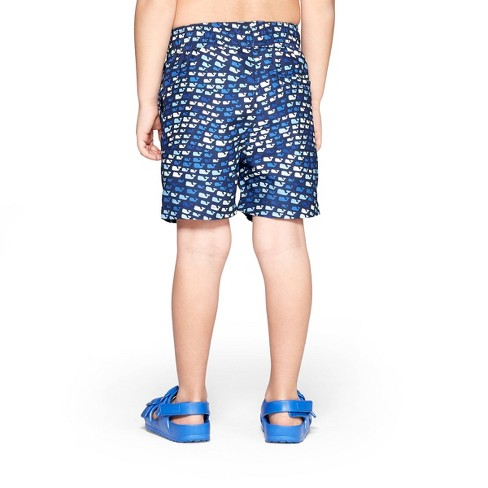0a56db40ef Toddler Boys' School Of Whales Swim Trunks - Blue 2T - Vineyard Vines® For  Target : Target