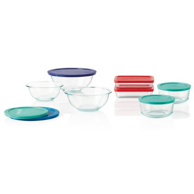 Pyrex 14pc Prep & Store Set