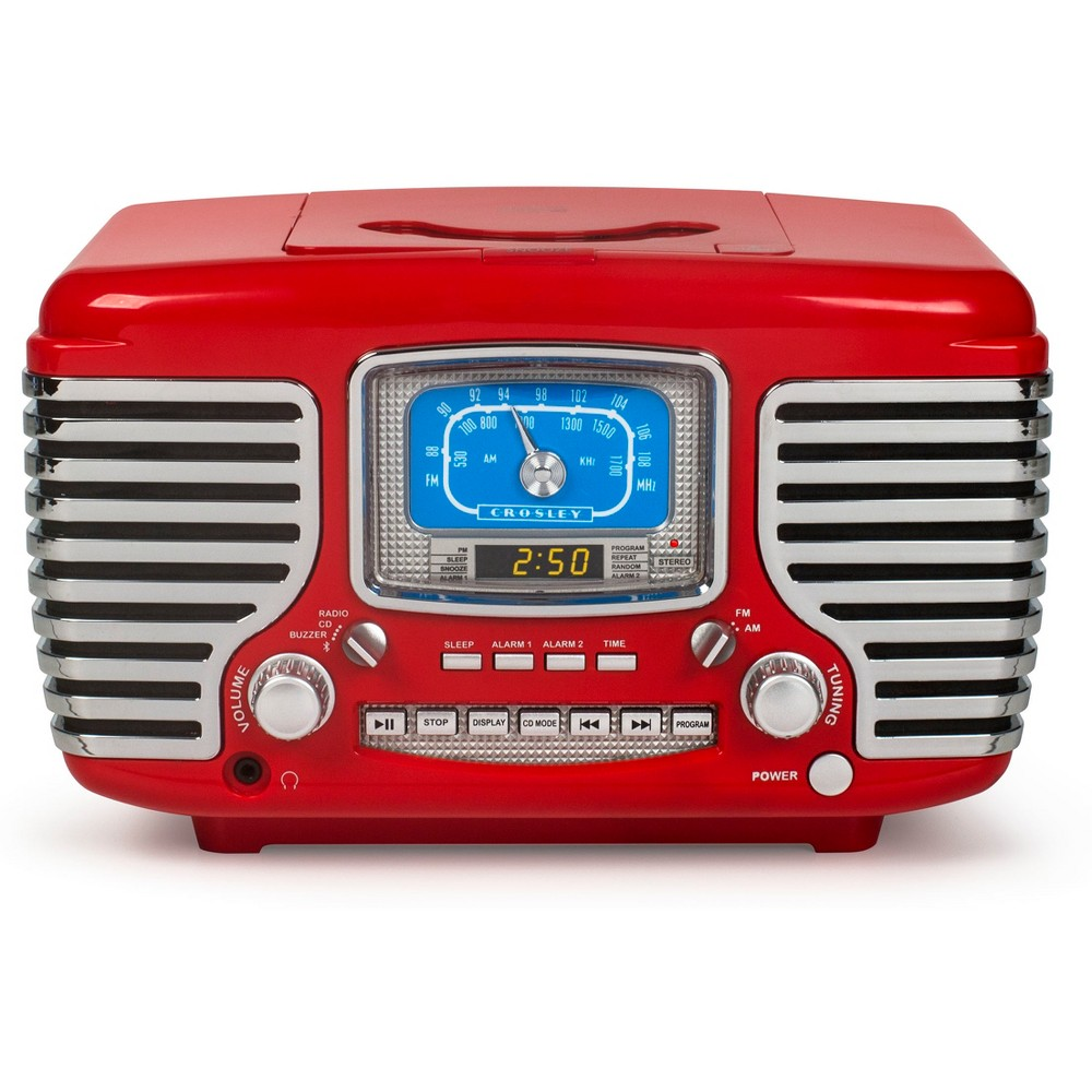 Crosley Corsair With Bluetooth - Red