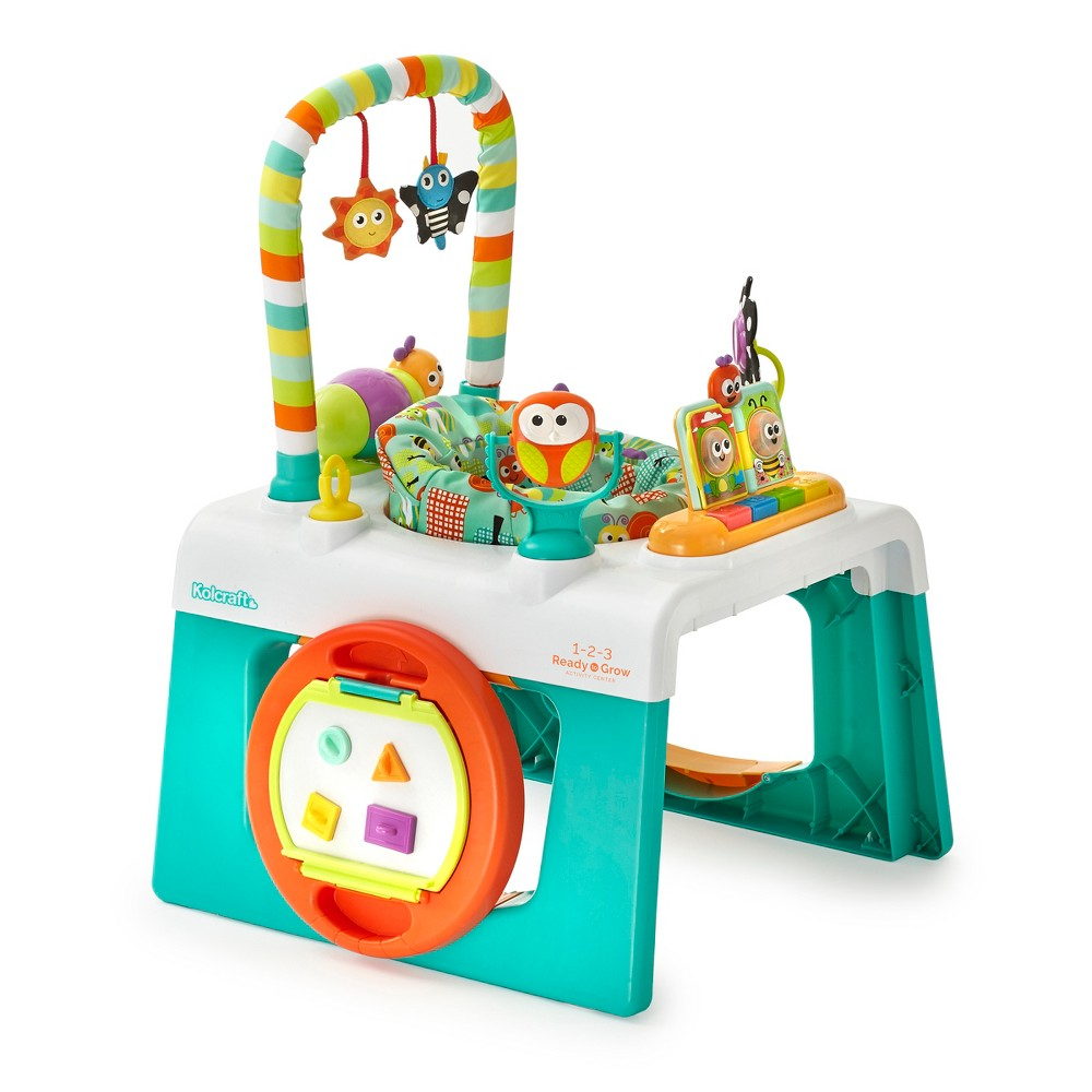 Image of Kolcraft 1-2-3- Ready-to-Grow Activity Center Entertainer