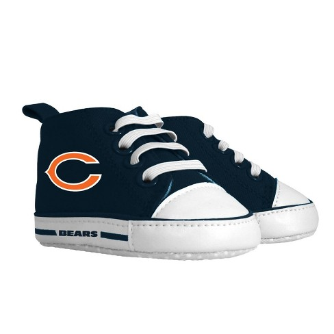 NFL Chicago Bears Baby High Top Sneakers - 0-6M - image 1 of 1