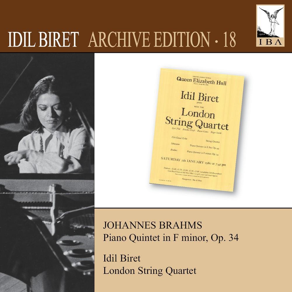 Idil Biret - Brahms:Quintet For Piano & Strings (CD)