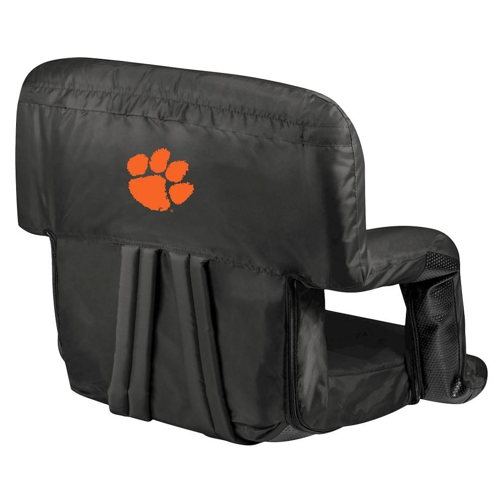 Portable Stadium Seats NCAA Clemson Tigers Black