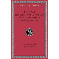 Tragedies, Volume I - (Loeb Classical Library) by  Seneca (Hardcover)