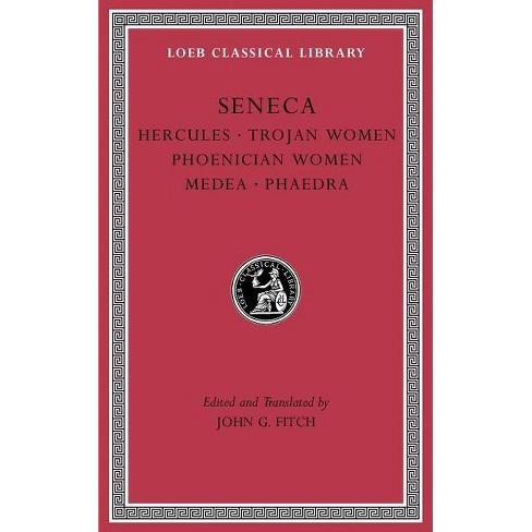 Tragedies, Volume I - (Loeb Classical Library) by  Seneca (Hardcover) - image 1 of 1
