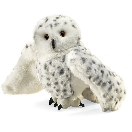 Folkmanis Snowy Owl Hand Puppet image number null