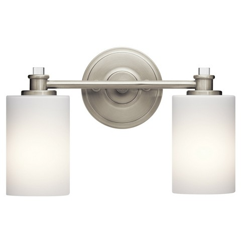 "Kichler 45922L16 Joelson 14"" Wide Energy Star Certified 2 LED Bathroom Vanity Light - image 1 of 2"