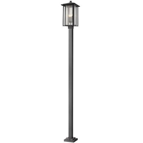 "Z-Lite 554PHXLS-536P Aspen 3 Light 116-7/8"" Tall Outdoor Single Head Post Light - image 1 of 1"