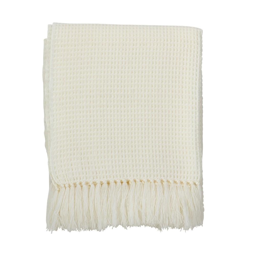 Light Off-White Throw Blankets50