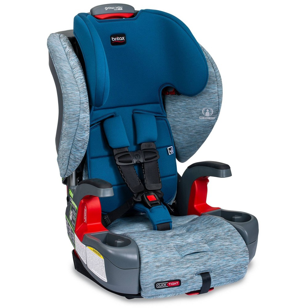 Image of Britax Grow With You ClickTight Harness-2-Booster - Seaglass