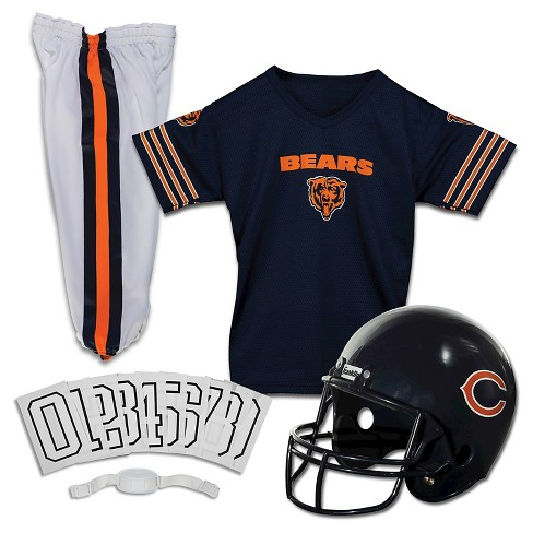 2edc7d746 Chicago Bears Franklin Sports Deluxe Helmet Uniform Set. Shop all NFL