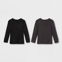 9c2f87dcd Toddler Boys  Thermal Long Sleeve T-Shirt - Cat   Jack™ Black   Target