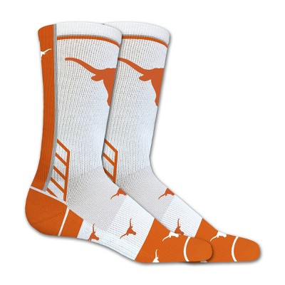 NCAA Texas Longhorns Tailgate Crew Socks 10-13