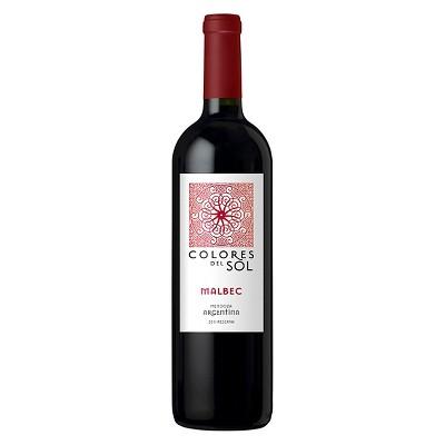 Colores Del Sol Malbec Red Wine - 750ml Bottle
