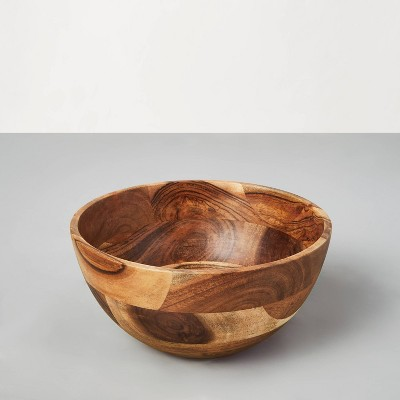 Medium Acacia Wood Serving Bowl - Hearth & Hand™ with Magnolia