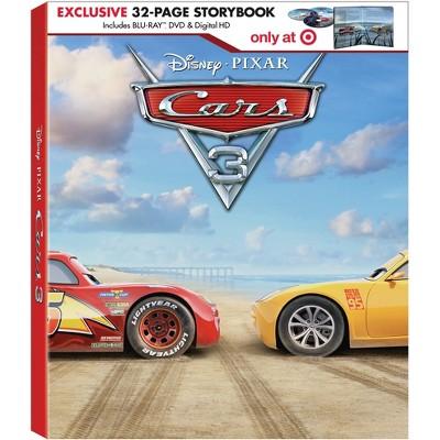 Cars 3: Target Exclusive Digibook (Blu-ray + DVD + Digital)
