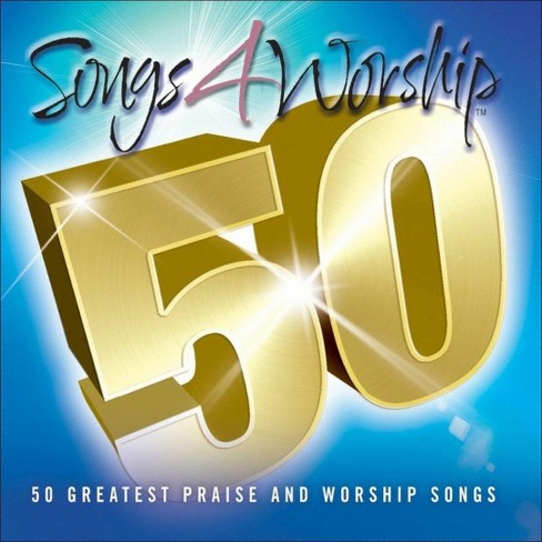 Various Artists - Songs 4 Worship: 50 Greatest Praise and Worship Songs (CD) - image 1 of 3