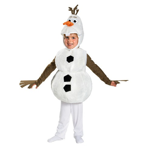 Disney's Frozen Olaf Toddler Deluxe Costume 4-6 Years - image 1 of 1