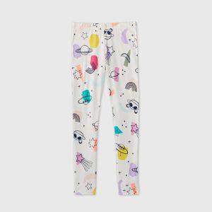 Girls Leggings Cat Jack Cream Target