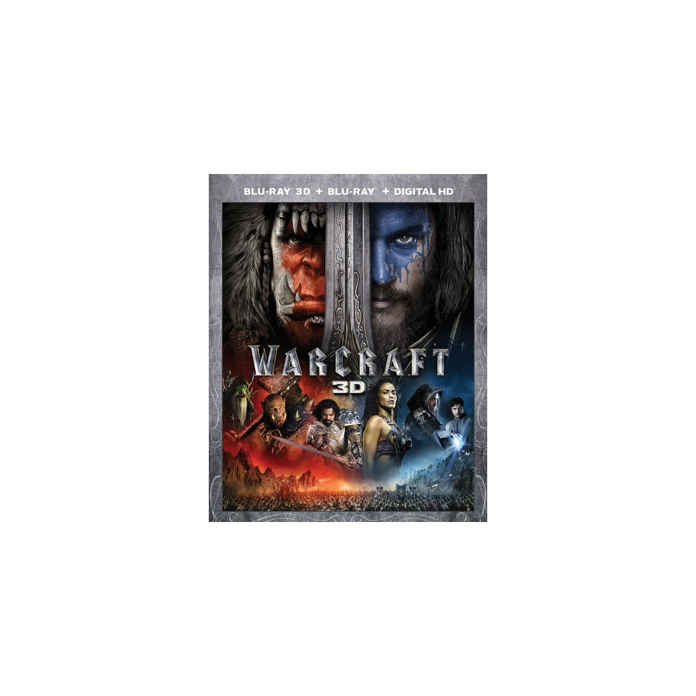 Warcraft 3d (Blu-ray), Movies