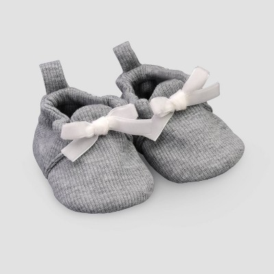 Baby Girls' Construction Slippers - Just One You® made by carter's Gray
