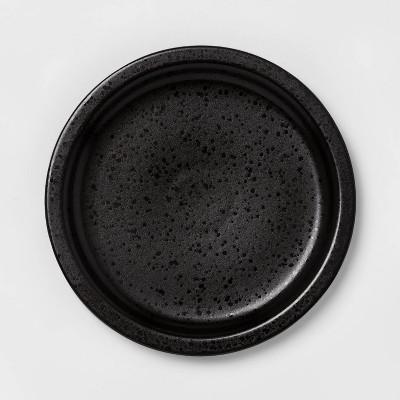 """8.9"""" Porcelain Ravenna Salad Plate Black - Project 62™"""