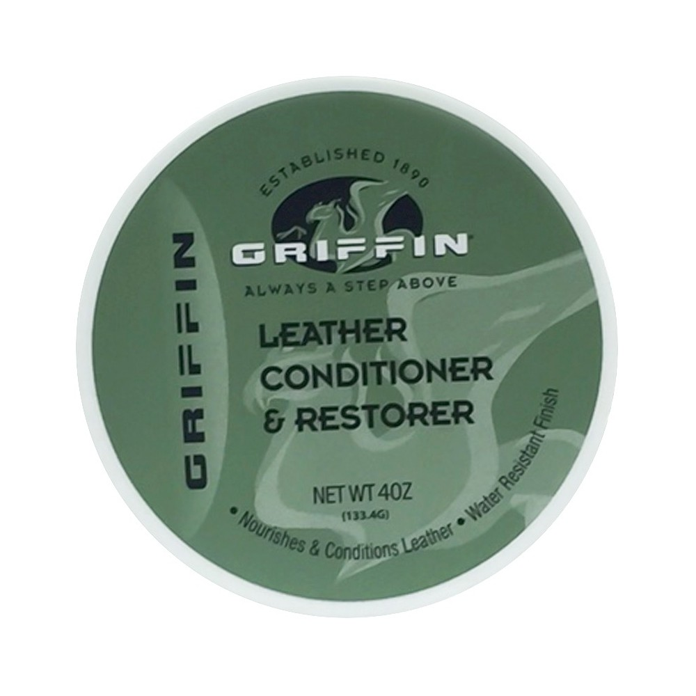 Image of Griffin Shoe Polishes And Leather Conditioner, White