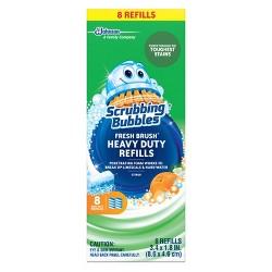 Scrubbing Bubbles Heavy Duty Fresh Brush Refills - 8ct