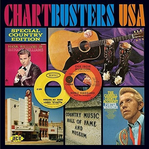 Various - Chartbusters Usa:Special Country Edit (CD) - image 1 of 1