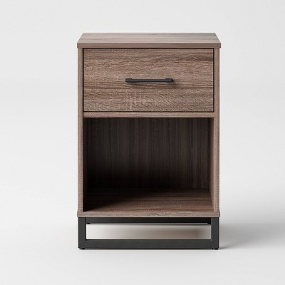 Mixed Material Nightstand - Room Essentials™